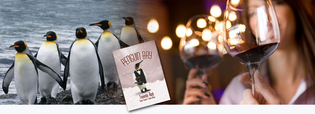 Dress up any occasion with a bottle of Tuxedo Red!