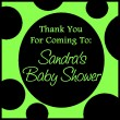 Sandra's Baby Shower